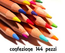ASTUCCIO 12 MATITE COLORATE SCUOLA INFANZIA ASILO BAMBINI DISEGNO