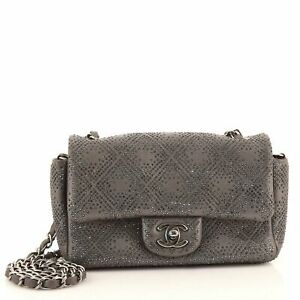 Chanel Mineral Nights Crossbody Bag Strass Embellished Leather Mini