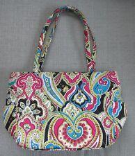 NWOT Very Bradley Silk Paisley Handbag Purse- Turquoise & Pink, Limited Edition!