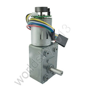DC12V JGY370B Speed Encoder Gearmotor Turbo Worm Gearbox Reduction Gear Motor