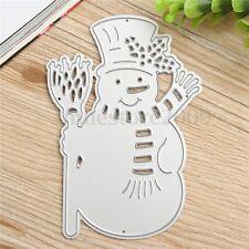 Snowman Metal Cutting Dies DIY Scrapbooking Album Paper Card Embossing Craft