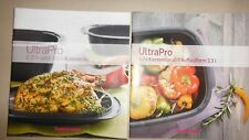 NEU Tupperware 2 Rezepthefte für UltraPro 5,7L +Auflaufform & Kasserolle 2L+3,5L