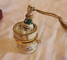 Lenox Ornament Celebrate 2000 Millennium Korbel Champagne Ice Bucket Boxed~Nice