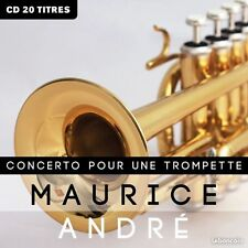 CD Maurice André Concerto pour une trompette NEUF 20 titres
