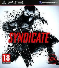 SYNDICATE / SONY PS3 / NEUF SOUS BLISTER D'ORIGINE / VERSION FRANÇAISE