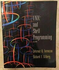 UNIX and Shell Programming: A Textbook , Forouzan, Behrouz A.