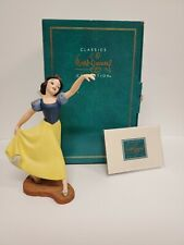 """🍎WDCC Disney Snow White """"The Fairest One of All"""" in Box w/COA"""