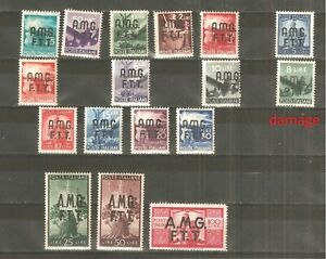 Italy - 1947. Trieste, Zone, set, MH /60/