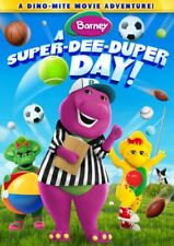NEW DVD - Barney: A Super-Dee-Duper Day! -  56 minutes