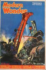 Modern Wonder 02/10/1937 Eyston Land Speed Records Microscopes 'TIM' Greyhound +