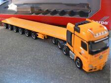 1/87 Herpa MB Actros SLT Max Bögl Ballasttrailer-SZ 305990