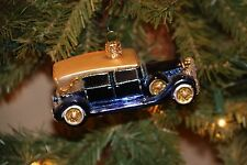 *Classic Auto - 2 Colors* Vintage Car [46010] Old World Christmas Ornament - NEW