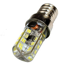 HQRP E14 Base 64 SMD3014 LED Bulb AC 110-220V Cool White for Decorative Lighting