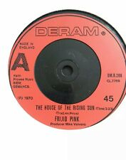 "FRIJID PINK - 7"" Vinyl - The House of The Rising Sun / Drivin - 1970 - Deram"