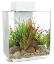 Fluval Edge 2.0 46 Liter - Aquarium Set mit LED- Beleuchtungssystem - Weiß