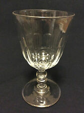 BACCARAT Hauteur ±15,1 cm verre à eau cristal taille côtes plates circa 1850