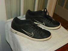 Men's Nike Court Tradition II Black/Black-White 315134 034 size US 13