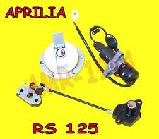 KIT SERRATURE COMPLETE ORIGINALI APRILIA RS 125 DAL 2002 AL 2005 AP8104486