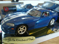 DODGE VIPER GTS COUPE 1996  B BURAGO GOLD COLLECTION REF 3330 1/18 OCCASION