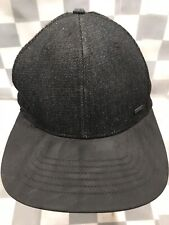 EXPRESS Black Trucker Snapback Adult Baseball Cap Hat