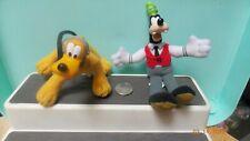 Disney McDonalds House Of Mouse Plush Plastic Head,Goofy, Pluto