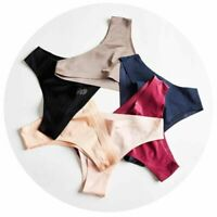 Women Sexy Lingerie Ice Silk Briefs Panties G-string Thongs Underwear Panties aa