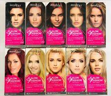 2 x Permanent Salon Fashion Hair Colour 10 Dye Colour ( 2 Packs Per Order)