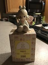 1994 Enesco Precious Moment BLESS YOUR SOUL #531162 Girl With Hole In Shoe MINT
