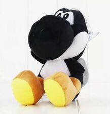 "Super Mario Bros Black Yoshi Plush Stuffed Animal Toy 7"" US Seller"