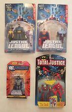 LOT Justice League Unlimited DC JLU 458/802 + Batman w/ Wonder Pig + Total Flash