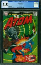 Atom #25 CGC 3.5 -- 1966 -- Man in the Ion Mask. Murphy Anderson #2027767005