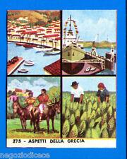 EUROPA - Imperia 1965 - Figurina-Sticker n. 275 - ASPETTI DELLA GRECIA -Rec