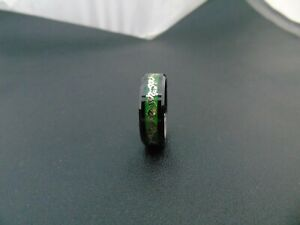 New Arrival Original Glow Ring In The Dark Gold Dragon Inlay Green Background