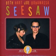 BETH HART & JOE BONAMASSA SEESAW CD & DVD ALBUM SET