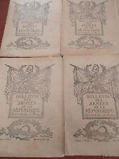 4 BULLETIN DES ARMÉES DE LA RÉPUBLIQUE WW1 GUERRE 1914 1918   ( ref 42 )