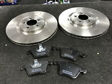 JAGUAR XJ8 XJR XK8 5.0 XKR 4.2 SUPERCHARGED V8 BRAKE DISC PAD FRONT 355MM TEEVES