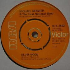"""Michael Nesmith & The First National Band(7"""" Vinyl)Silver Moon-UK-Ex/NM"""
