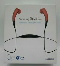 SAMSUNG GEAR Circle Neckband Bluetooth WIRELESS Earbud Headphones - Red EUC