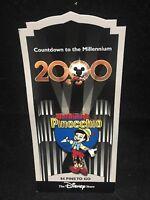 Disney Countdown to the Millennium Pin #85 Pinocchio 1940 MOC