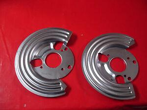 Mopar Chrysler A B E R M J body disc brake dust shields backing plates