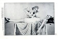 Und ein heisses Bügeleisen - auf den kalten Leib gebracht... ( Binder )  c.1930