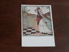 ORIGINAL RIE CRAMER SIGNED ART DECO GLAMOUR POSTCARD - PROMENADE, W. DE HAAN.