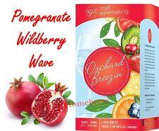 RJ Spagnols Orchard Breezin Pomegranate Wildberry Wave Zinfandel Wine Making Kit