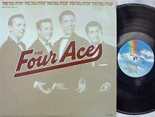 Four Aces~Reissue US 2XLP Best of the Four Aces EX Vocal harmony group Pop
