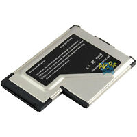 2 Port USB 3.0 High quality ExpressCard 54mm High Speed Adapter For PC Laptop