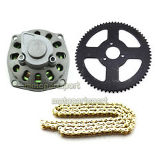 25H 136L Chain 68T Rear Sprocket 6T Gear Box 47cc 49cc Minimoto ATV Pocket Bike