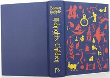 SALMAN RUSHDIE Midnight's Children SIGNED FIRST ILLUSTRATED EDITION