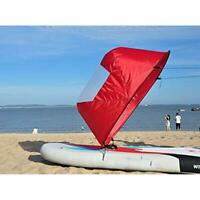 "42"" Foldable Downwind Wind Paddle Popup Board For Canoe Kayak Sail Accessories"
