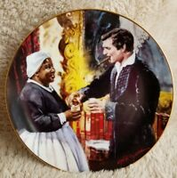 Collectible Gone with the Wind W S George Plate  #6334F A Toast to Bonnie Blue