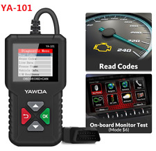 Automotive OBD2 Scanner Check Engine Light Fault Code Reader Diagnostic ScanTool